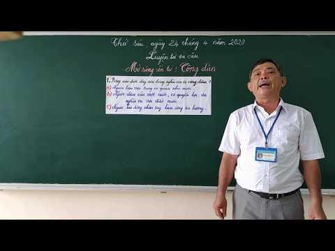 Môn LTVC lớp 5, bài Mở rộng vốn từ: Công dân (GV Nguyễn Thanh Tuấn, Trường TH C Phú Mỹ)