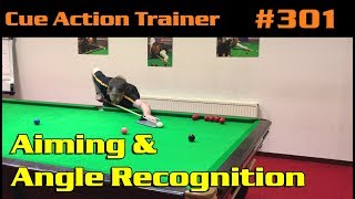 Snooker Lessons 3 Using The C.A.T. - Aiming & Angle Recognition... A New Way Of Learning