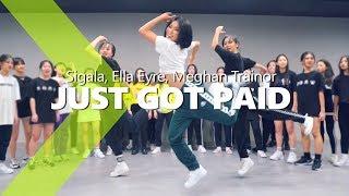 Gambar cover Sigala, Ella Eyre, Meghan Trainor - Just Got Paid  ft. French Montana / HAZEL Choreography.
