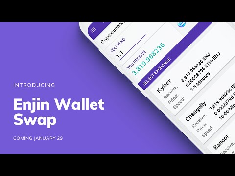 Enjin Launches In-Wallet Token Swap with Thousands of Trading Pairs