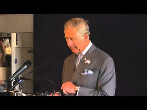 HRH The Prince of Wales opens Middleport Pottery