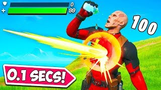 *0.1 SECOND* WORLDS LUCKIEST TIMING!! - Fortnite Funny Fails and WTF Moments! #914