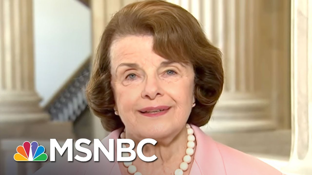 Sen. Dianne Feinstein: Firing Sessions Is A 'Red Zone' For Donald Trump | MSNBC thumbnail
