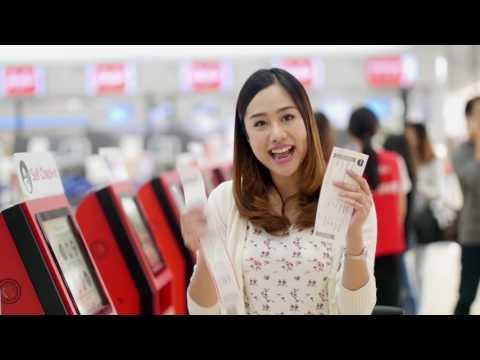 AirAsia - Self Bag Drop ปริ้นท์-แปะ-ปี๊บ