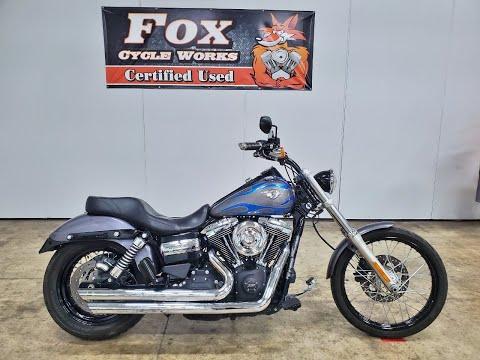 2014 Harley-Davidson Dyna® Wide Glide® in Sandusky, Ohio - Video 1