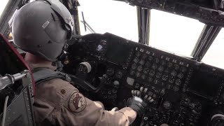 Video: B-52 Carries Out Actual Combat Bombing Run