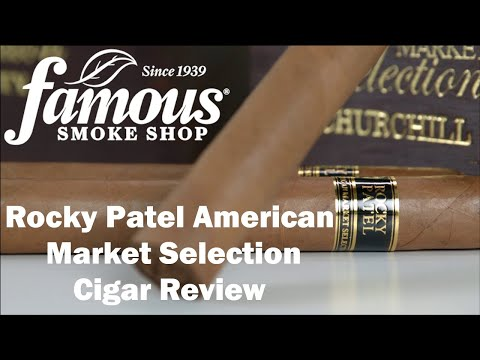 Rocky Patel American Market Selection video