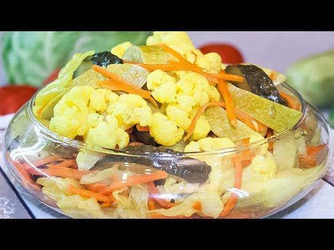 Овощи по-корейски, рецепт приготовления маринованных овощей