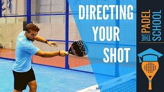 Vart skall du slå din volley