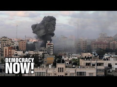 """""""Genocide"""": Palestinian Lawmaker Condemns Netanyahu for Bombing Gaza to Stay in Power, Avoid Charges"""