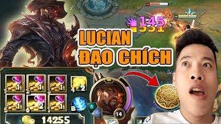 Test Lucian ĐẠO CHÍCH | Bí Quyết Hack Tiền Trong LMHT - Trâu best Udyr
