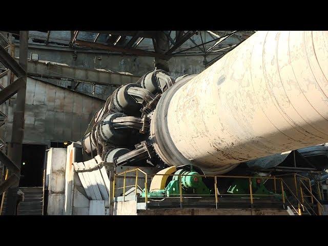 Экскурсия на цементный завод