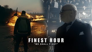 "Dunkirk Darkest Hour Fan Edit - ""We Shall Fight"" (Finest Hour)"