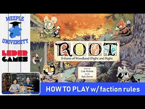 Root Board Game – How to Play & Setup, Including Factions Rules