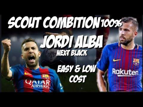 SCOUT COMBINE JORDI ALBA - PES2018 - Yepi C47 - Video - Free