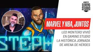 ¡Revive la histórica jornada de Marvel y la NBA con Leo Montero en #GamingStudio!