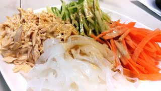 雞絲粉皮 / 最緊要支醬 / Shredded Chicken with Sesame dressing 【20無限】
