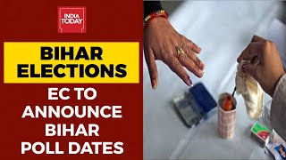 Bihar Election Dates To Be Announced Today, Election Commission Presser At 12.30 PM  IMAGES, GIF, ANIMATED GIF, WALLPAPER, STICKER FOR WHATSAPP & FACEBOOK
