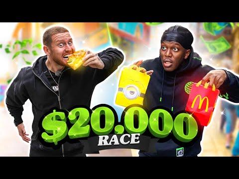 SIDEMEN $20,000 A-Z EATING CHALLENGE