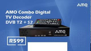 combo dvb t2 s2 hd digital satellite tv receiver - TH-Clip