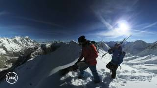 High Mountain Guiding with the Nikon KeyMission 360 Action Camera