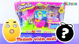 Xuất hiện thành viên mới, giới thiệu bộ đồ chơi Shopkins siêu thị nhỏ - ToyStation 25