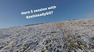 Snowy days - FPV Cinematic(Hero 5 session Reelsteady go test)