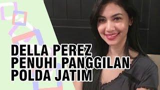 Adik Almarhum Julia Perez, Della Perez Penuhi Panggilan ke Polda Jawa Timur