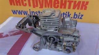 Двигатель в сборе для бензопил 4500, 5200 от компании Инструментик - видео