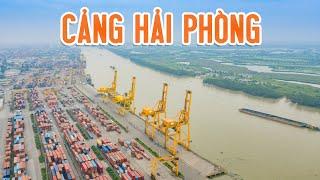 Vô Số CONTAINER Tại Khu Cảng KHỦNG Của Thành Phố HảI PHÒNG