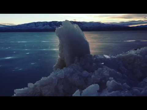 Isfjellet hypnotiserer øyenvitner med sitt tempo