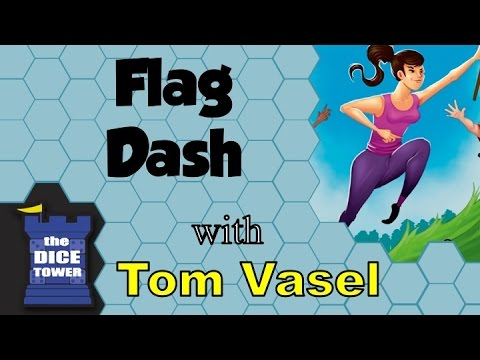 Flag Dash Review - with Tom Vasel