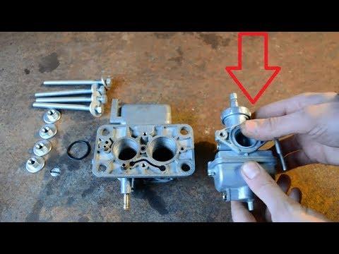 Как выровнять привалочную плоскость авто/мото карбюратора.