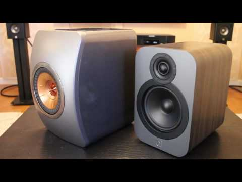 KEF LS50 vs. Q Acoustics Q3020 Comparison Review