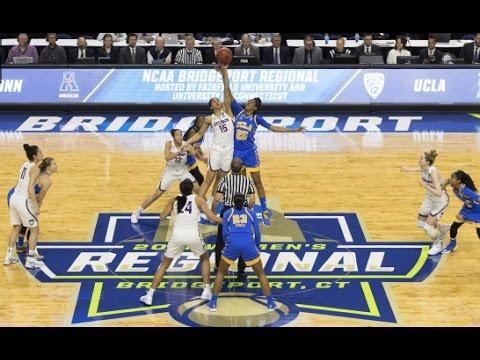 UConn Women's Basketball Highlights vs. UCLA 03/25/2017 (NCAA Tournament Sweet Sixteen)