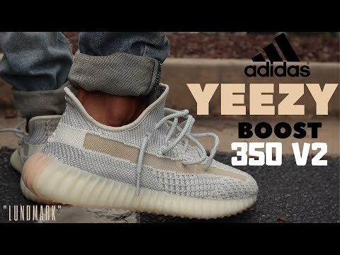 "YEEZY 350 V2 ""LUNDMARK"" REVIEW & ON FEET!!"