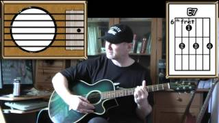 People Are Strange - The Doors - Acoustic Guitar Lesson