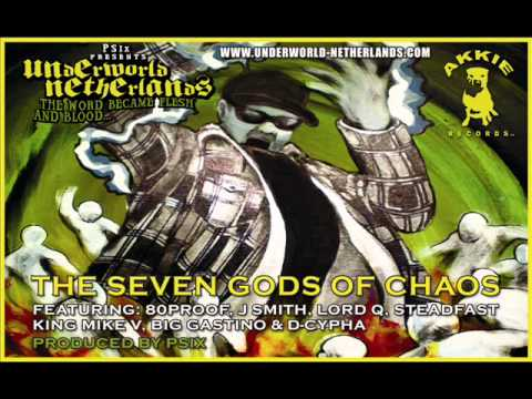 Psix presents Underworld Netherlands - The Seven Gods Of Chaos