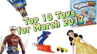 Top 10 Toys in March 2017