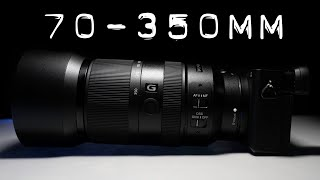 Sony E 70-350mm F4.5-6.3 Review - An AMAZING Mid Range Telephoto!
