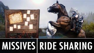 Skyrim Mods: Missives & Ride Sharing