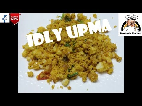 Idly Upma || Spicy Idly Upma With Leftover Idlis