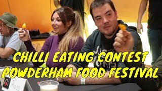 Chilli Eating Contest - Powderham Food Festival 2019 (Saturday)