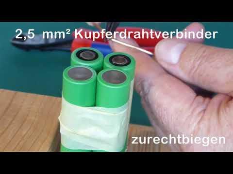 RC Antriebsakkus mit Lithium  Ionen Zellen