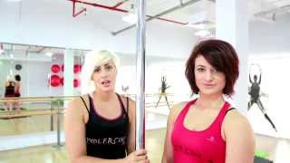 Pole dance tutorial - how to invert