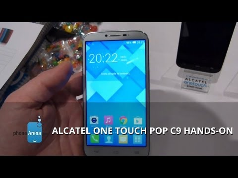 Alcatel One Touch Pop C9 hands-on