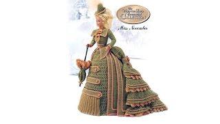 Вязание спицами и крючком  для куклы Барби (показ моделей)