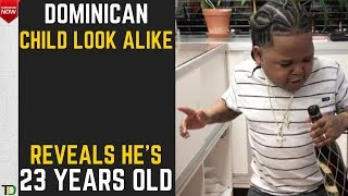 MAN who looks like a BABY reveals his Age - Says His Name is Jonathan & He is 23 years old.