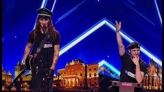 Video ČESKO SLOVENSKO MÁ TALENT 2018 - Rock N Roll Army