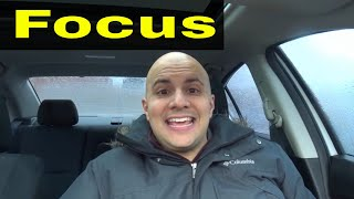 Driving Test Tip-Focus On Your Driving